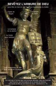 carte revetez l'armure de Dieu
