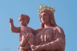 Le Puy-en-Velay - La statue Notre-Dame de France