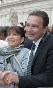 Thierry et Myriam a Rome