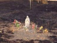 Imagen de Lourdes 3 intacta en base militar El Goloso, Madrid